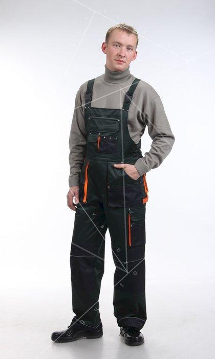 Полукомбинезон мужской для защиты от общих производственных загрязнений и механических воздействий. Модель 56А