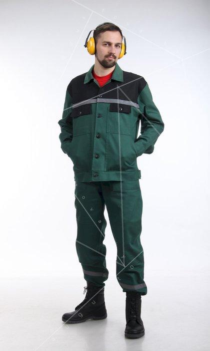 Костюм мужской для защиты от общих производственных загрязнений и механических воздействий. Модель 35
