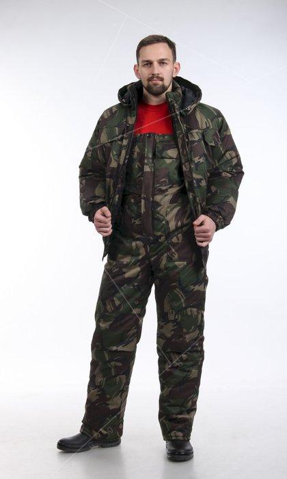 Полукомбинезон мужской для защиты от пониженных температур. Модель 52