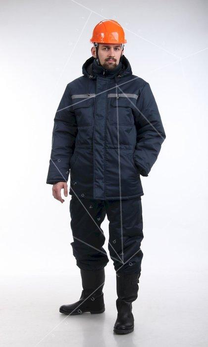 Брюки мужские для защиты от пониженных температур. Модель 24